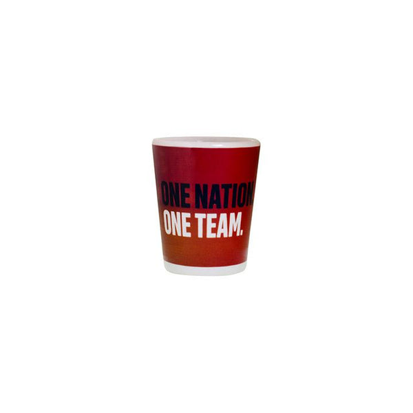 Boelter USWNT 3-Star Sublimated Shadow Shot Glass