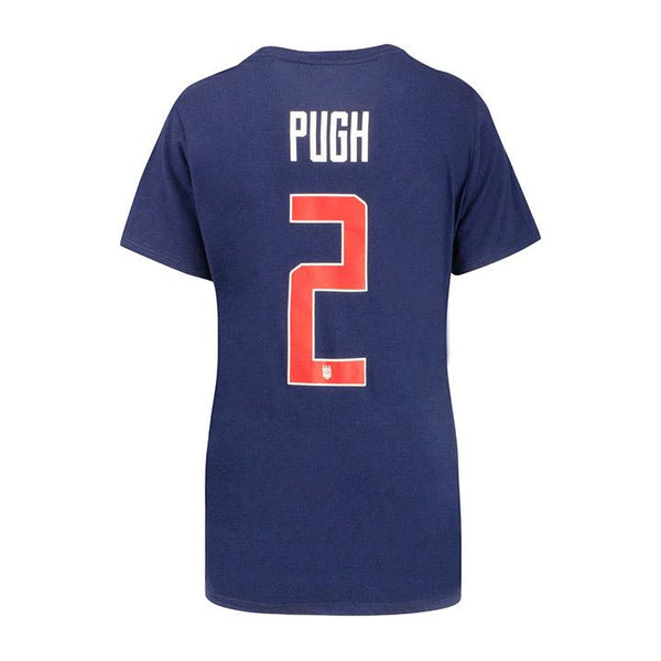 Women's Nike USWNT 3-Star Pugh Name and Number Tee