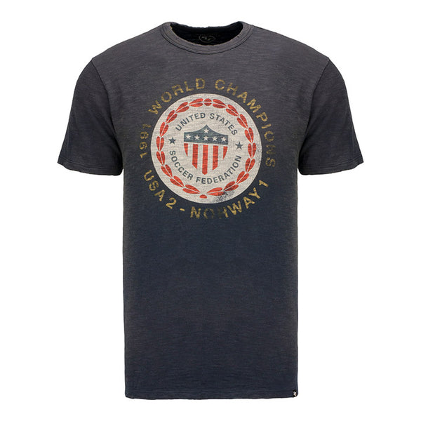 Men's '47 Brand USWNT 1991 World Champions Dye House Distressed Scrum Tee