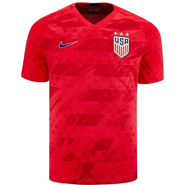 MEN'S USA NIKE BREATHE STADIUM RED AWAY JERSEY