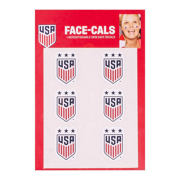 WINCRAFT US WNT 3 STAR FACE-CAL DECALS