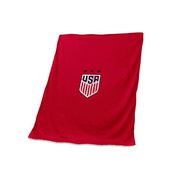 Logo Brands USWNT 3-Star Stadium Throw Blanket