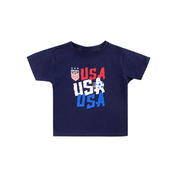 TODDLER OUTERSTUFF USA CHANT TEE