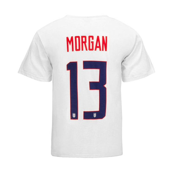 YOUTH NIKE MORGAN NAME & NUMBER TEE