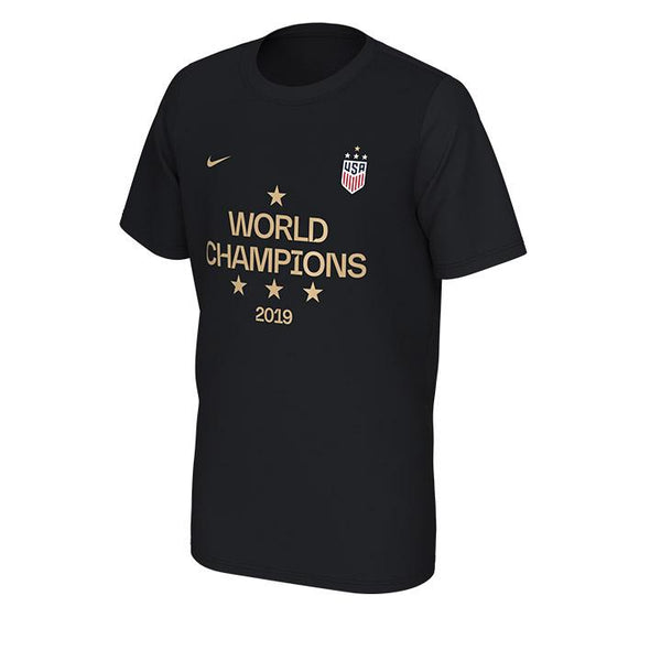 YOUTH NIKE 2019 4-STAR WORLD CUP CHAMPIONS TEE
