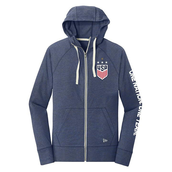 WOMENS 5TH & OCEAN WNT TRIBLEND HOOD