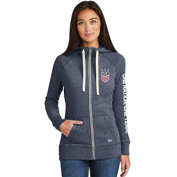 Women's 5th & Ocean USWNT Triblend Hoody