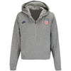 Women's Nike WNT Cropped 1/2 Zip Hoody