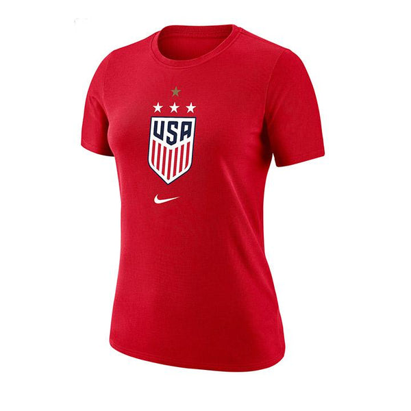 WOMEN'S NIKE WNT 4STAR DRIFIT COTTON TEE