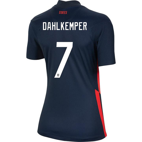 Women's Abby Dahlkemper USWNT Nike Away Navy Jersey