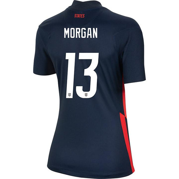 Women's Alex Morgan Nike Away Navy Jersey