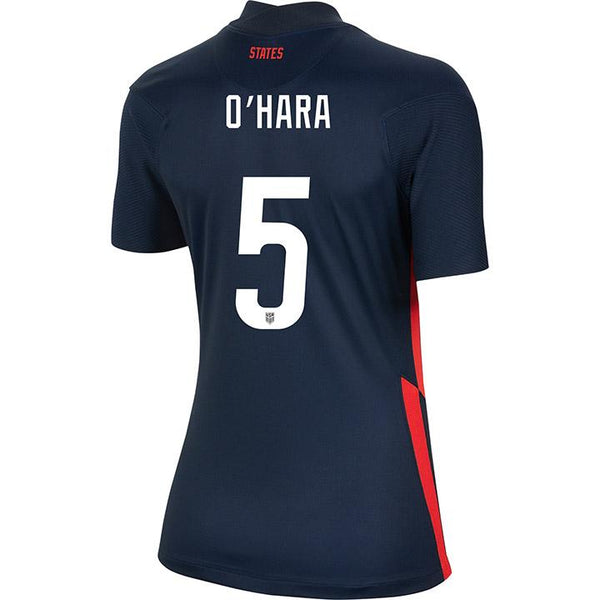 Women's Kelley O'Hara Nike Away Navy Jersey
