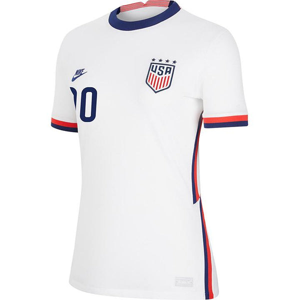Personalized Women's Nike USWNT Home White Jersey