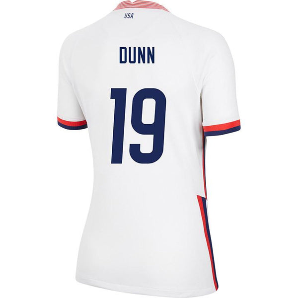 Women's Crystal Dunn Nike Home White Jersey