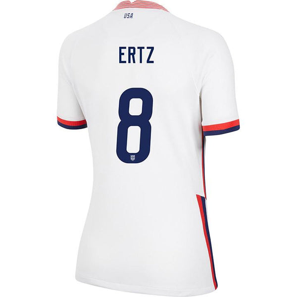 Women's Julie Ertz USWNT Nike Home White Jersey