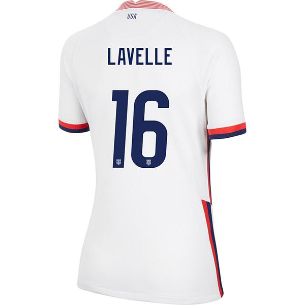 Women's Rose Lavelle USWNT Nike Home White Jersey