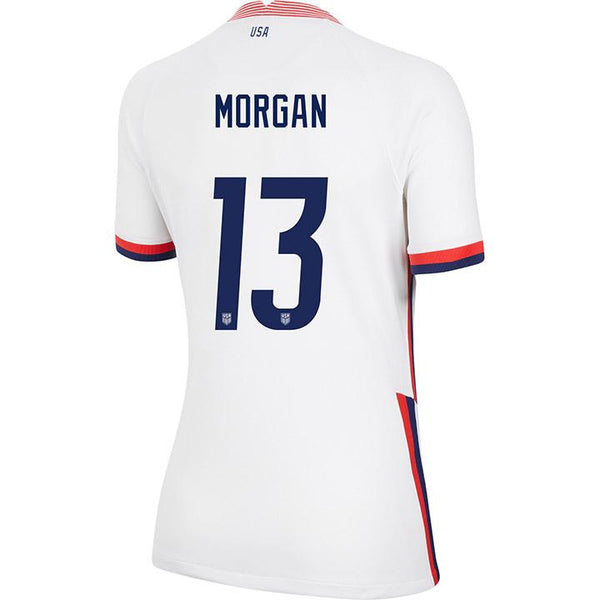 Women's Alex Morgan Nike Home White Jersey