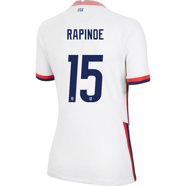 Women's Megan Rapinoe Nike Home White Jersey