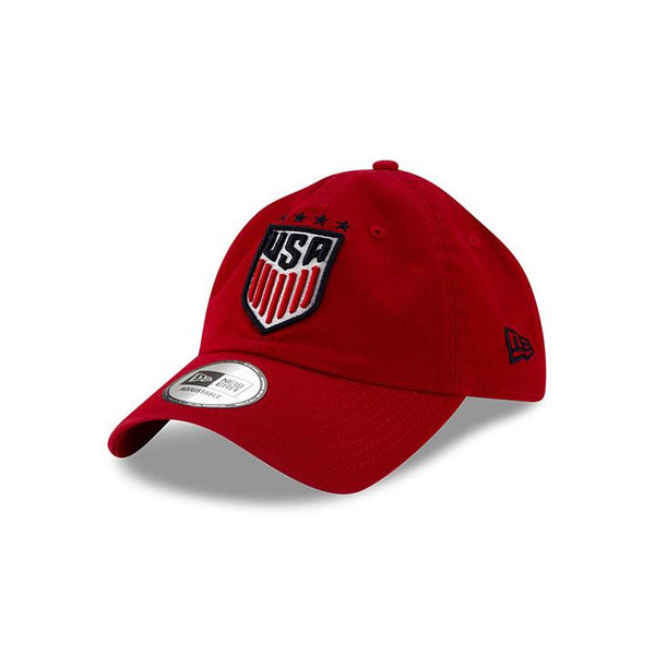 New Era USWNT 920 Casual Classic Red Hat