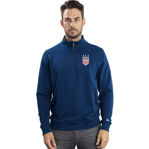 Men's 5th & Ocean USWNT Fleece 1/4 Zip Top
