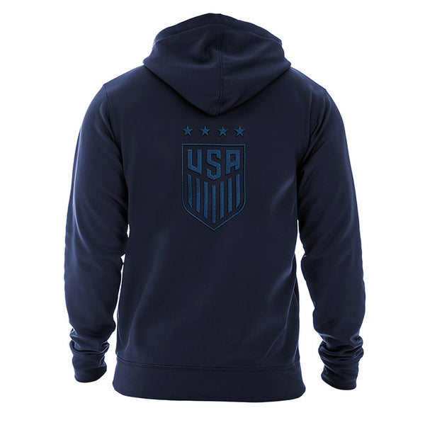 Men's 5th & Ocean USWNT Poly Contrast F/Z Hoody