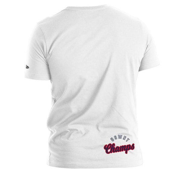 Men's 5th & Ocean USWNT Left Chest White Tee