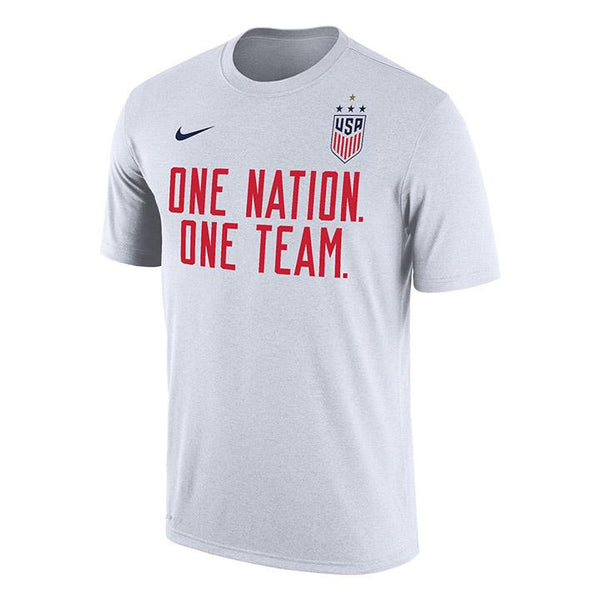 Men's Nike USWNT Dri-Fit One Team White Tee