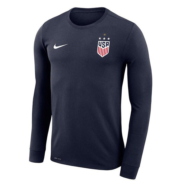 Men's Nike USWNT Legend L/S Navy Tee