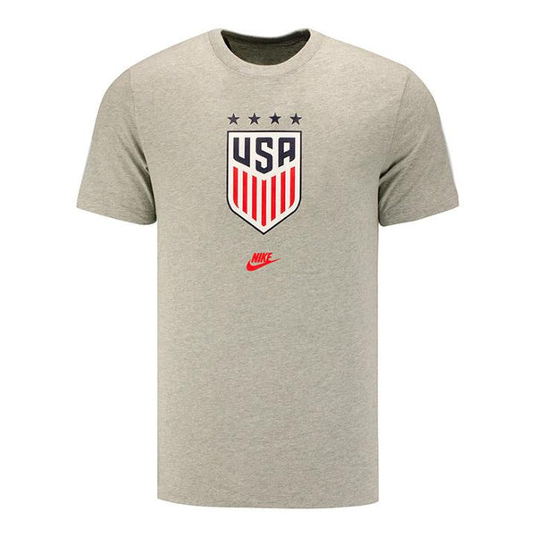 Men's Nike USWNT Grey Crest Tee