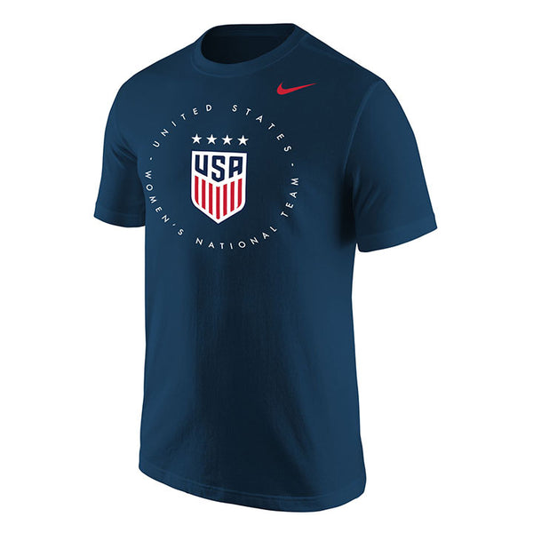 Men's Nike USWNT Circle Navy Tee