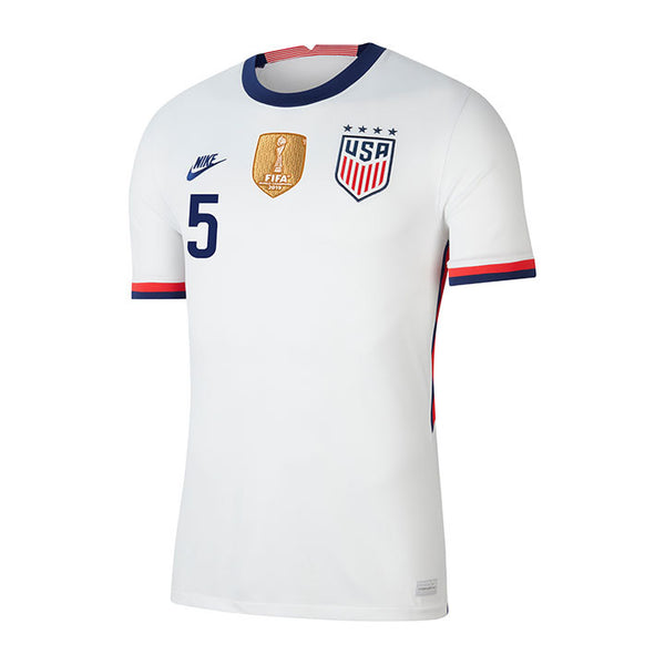 Youth Kelley O'Hara USWNT Nike Home White Jersey