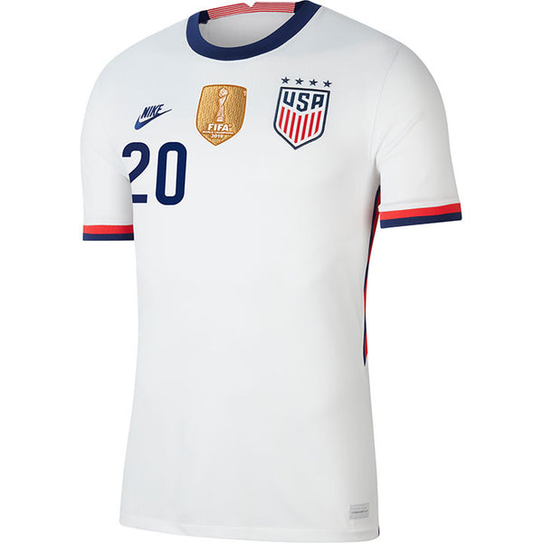 Men's Margaret Purce USWNT Nike Home White Jersey
