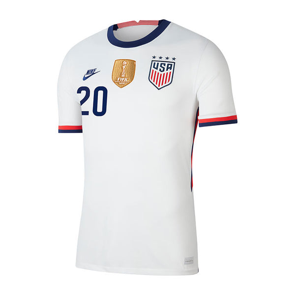 Youth Margaret Purce USWNT Nike Home White Jersey