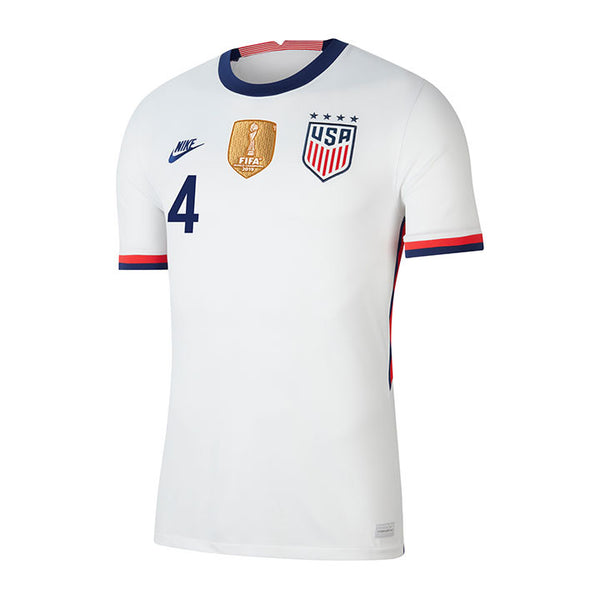 Youth Becky Sauerbrunn USWNT Nike Home White Jersey