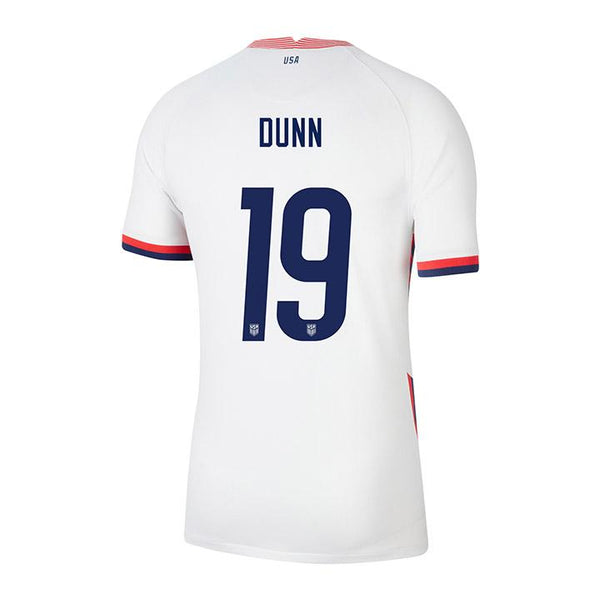 Youth Crystal Dunn USWNT Nike Home White Jersey
