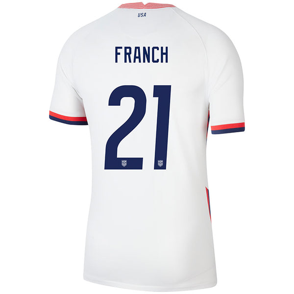 Men's Adrianna Franch USWNT Nike Home White Jersey