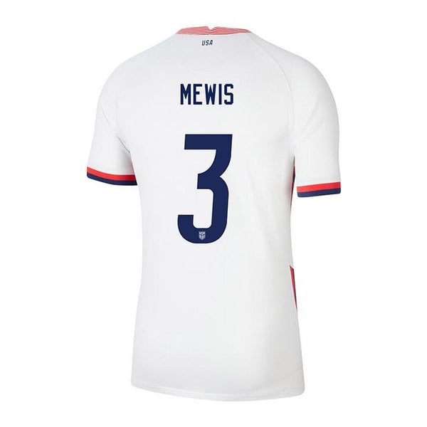 Youth Samantha Mewis Nike Home White Jersey