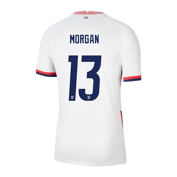 Youth Alex Morgan USWNT Nike Home White Jersey