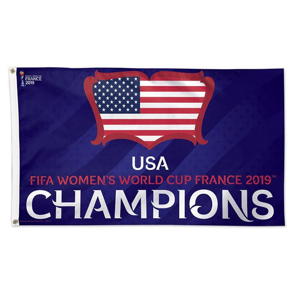 Wincraft USA 2019 World Cup Champions 3x5 Flag