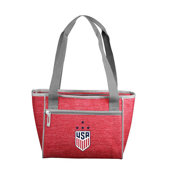 Logo Brands USWNT 16 Can Cooler Tote