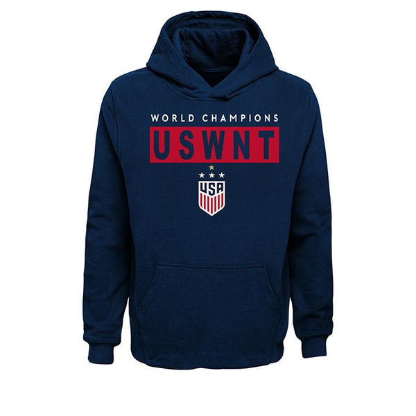 Youth Outerstuff USWNT Champions Block Hoody