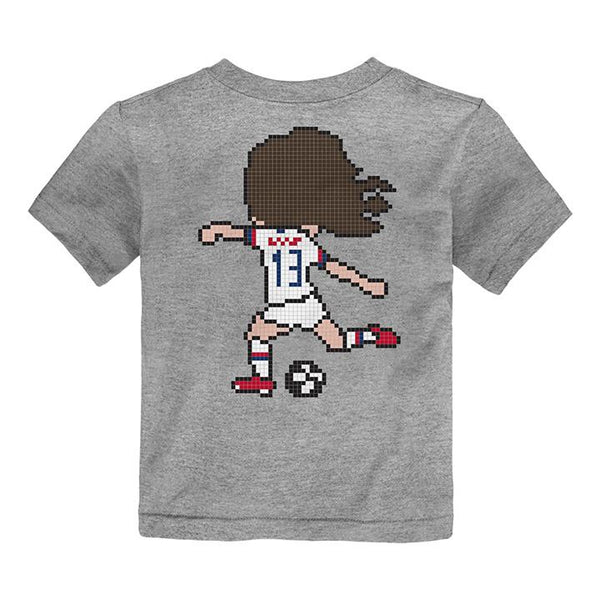 YOUTH OUTERSTUFF PIXEL ALEX MORGAN TEE