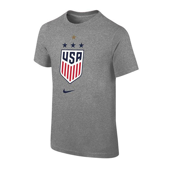 YOUTH NIKE WNT 4STAR CORE TEE