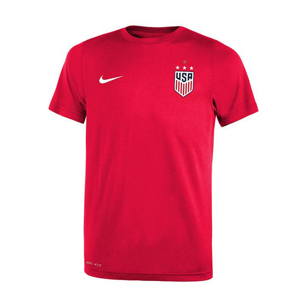 Youth Nike WNT Red Legend Tee