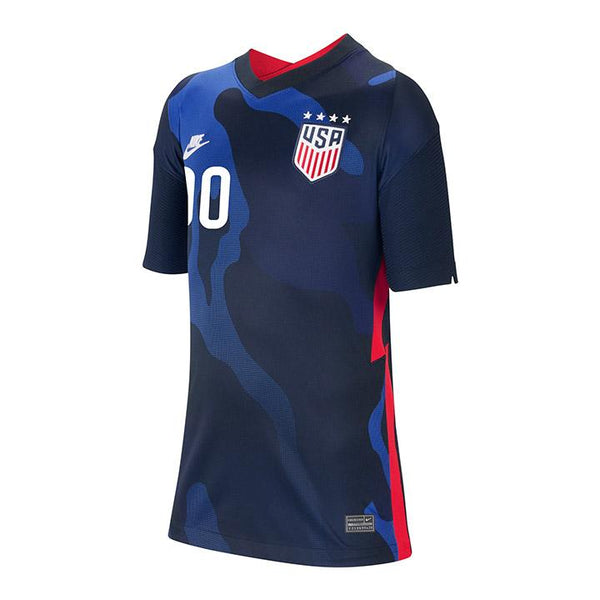 Personalized Youth Nike WNT Away Navy Jersey