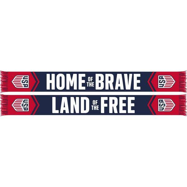 RUFFNECK CREST HOME OF THE BRAVE SCARF