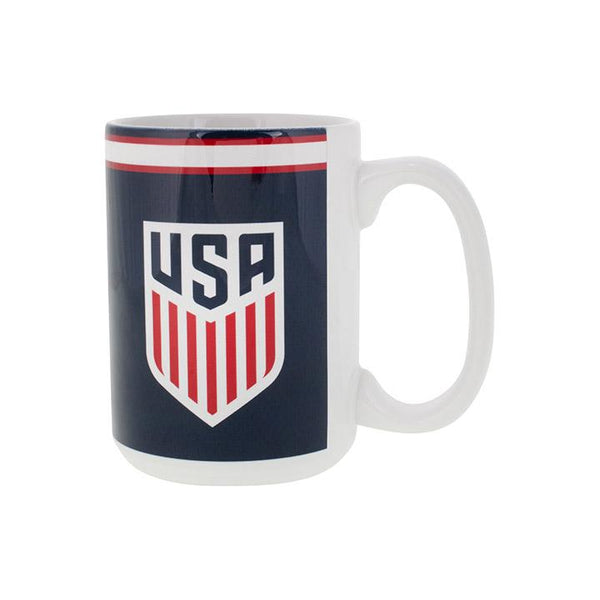 Boelter USA Crest Sublimated Color Blast Mug