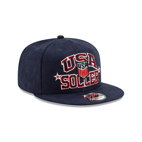 New Era 950 Navy Starry Suede Cap