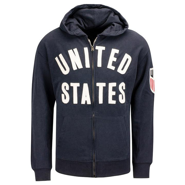 MEN'S 47 UNITED STATES STRIKER FULL ZIP - NAVY