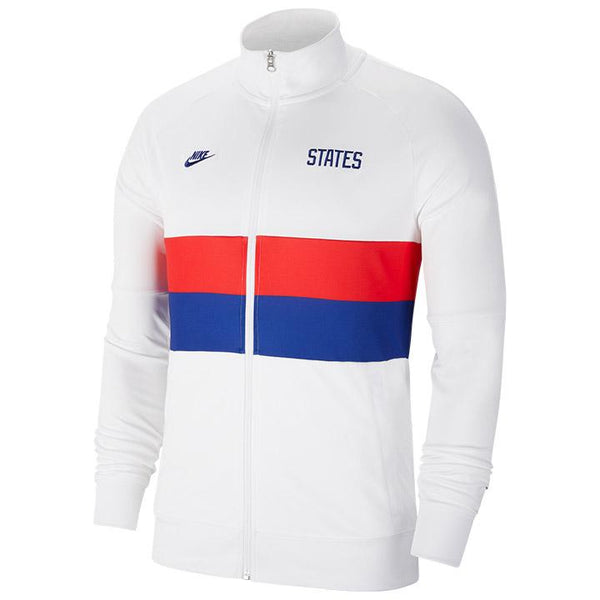 Nike States Anthem I96 White Track Jacket